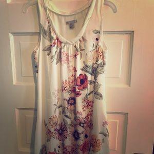 H&M silk floral bubble dress!
